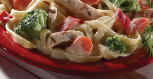 Frozen Chicken Fettuccine